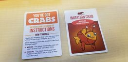 You've Got Crabs Imitation Crab Expansion Kit cards