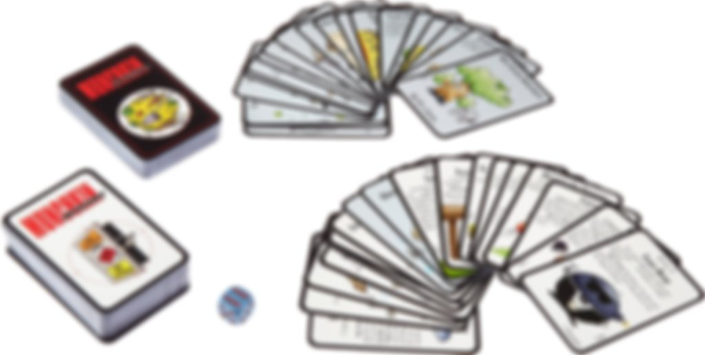 Munchkin Impossible components