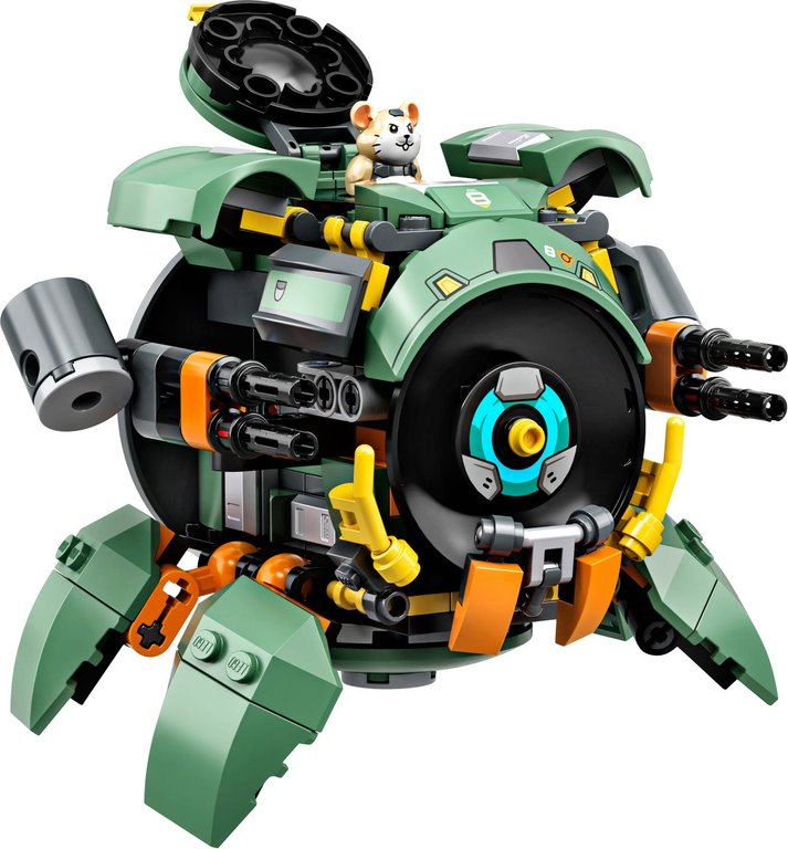 LEGO® Overwatch Wrecking Ball components