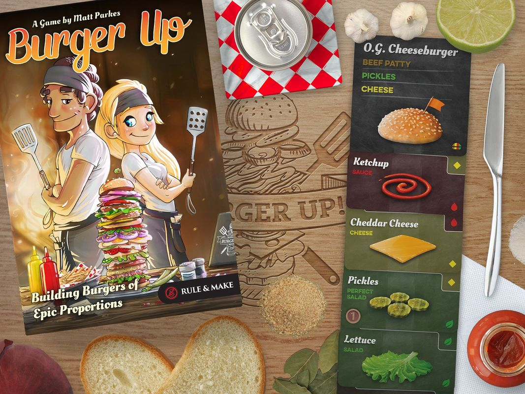 Burger Up components