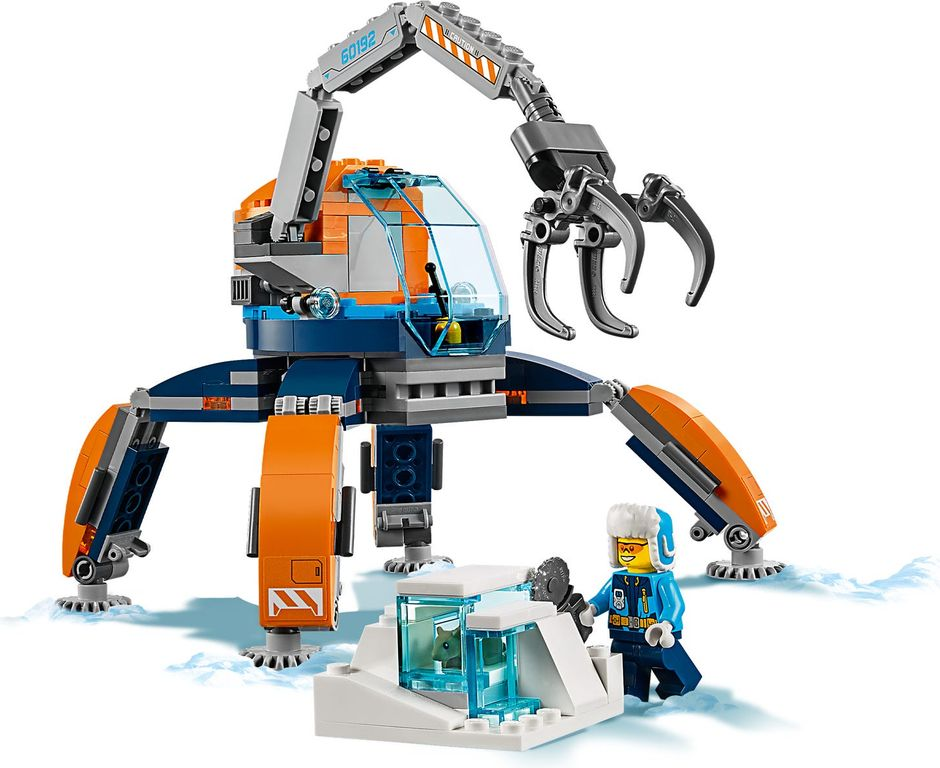 LEGO® City Arctic Ice Crawler gameplay