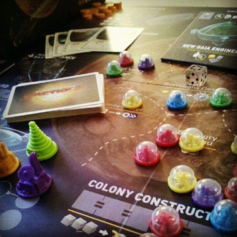 Alien Frontiers: Factions spielablauf