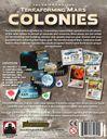 Terraforming Mars: Colonies back of the box