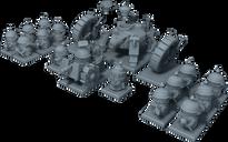 Rivet Wars: Eastern Front miniature