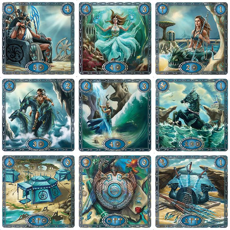 BATTALIA: The Creation cards