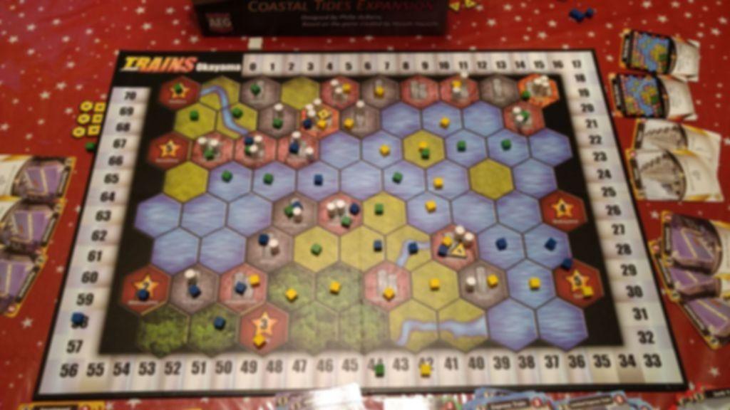 Trains: Coastal Tides gameplay