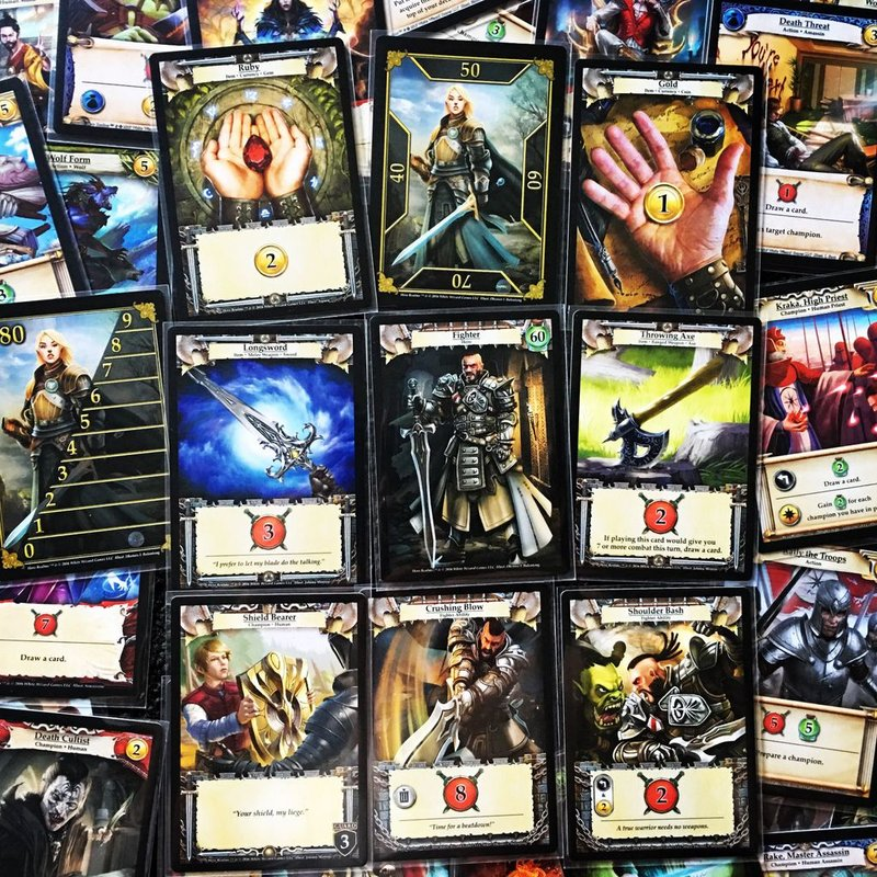 Hero Realms: Character Pack - Fighter cards