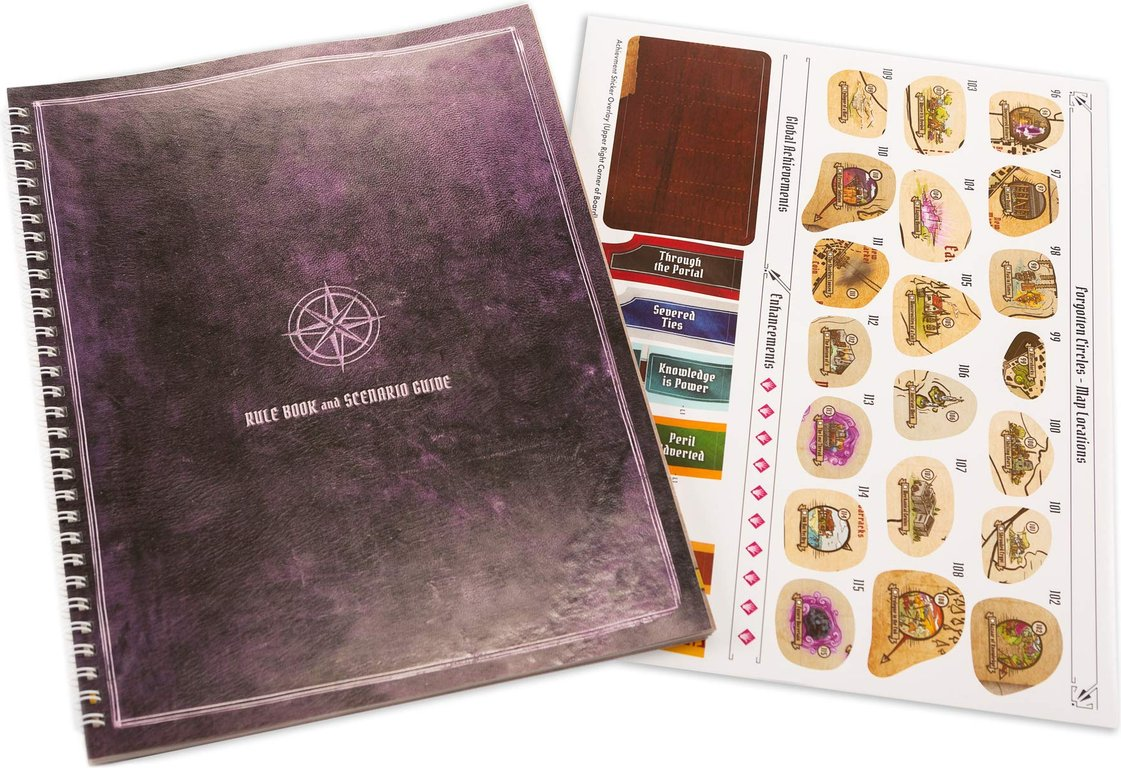 Gloomhaven: Forgotten Circles components