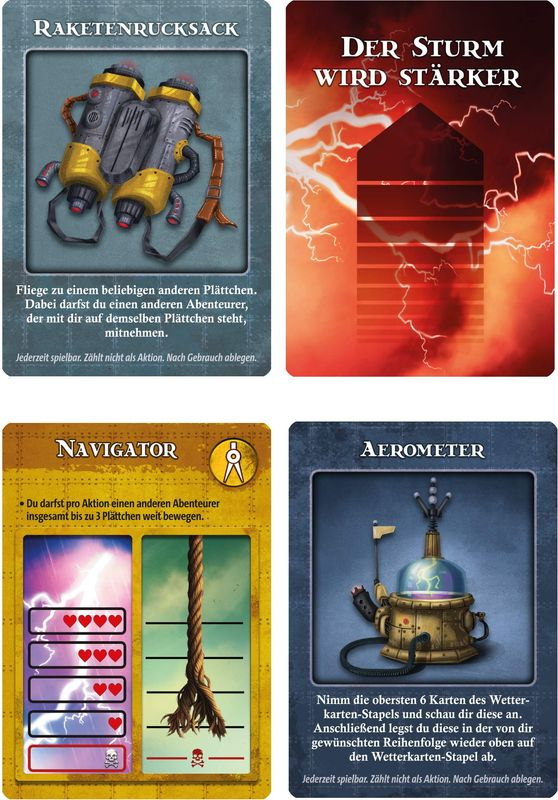 Forbidden Sky cards