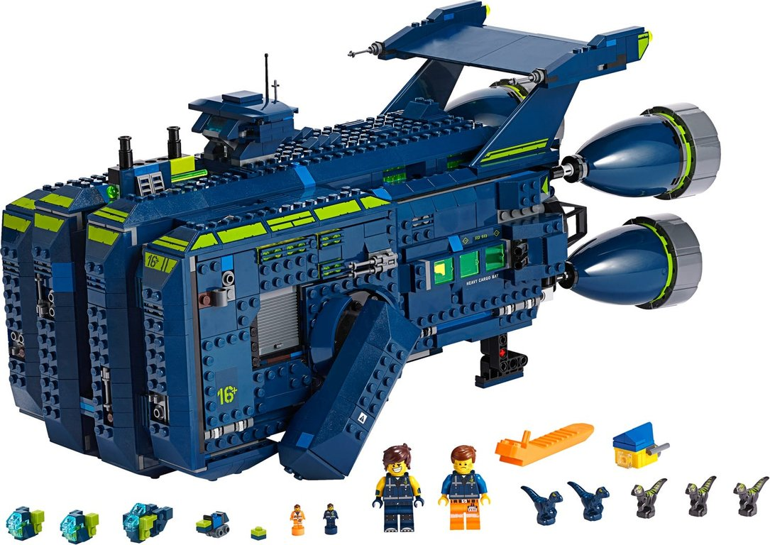 LEGO® Movie The Rexcelsior! components