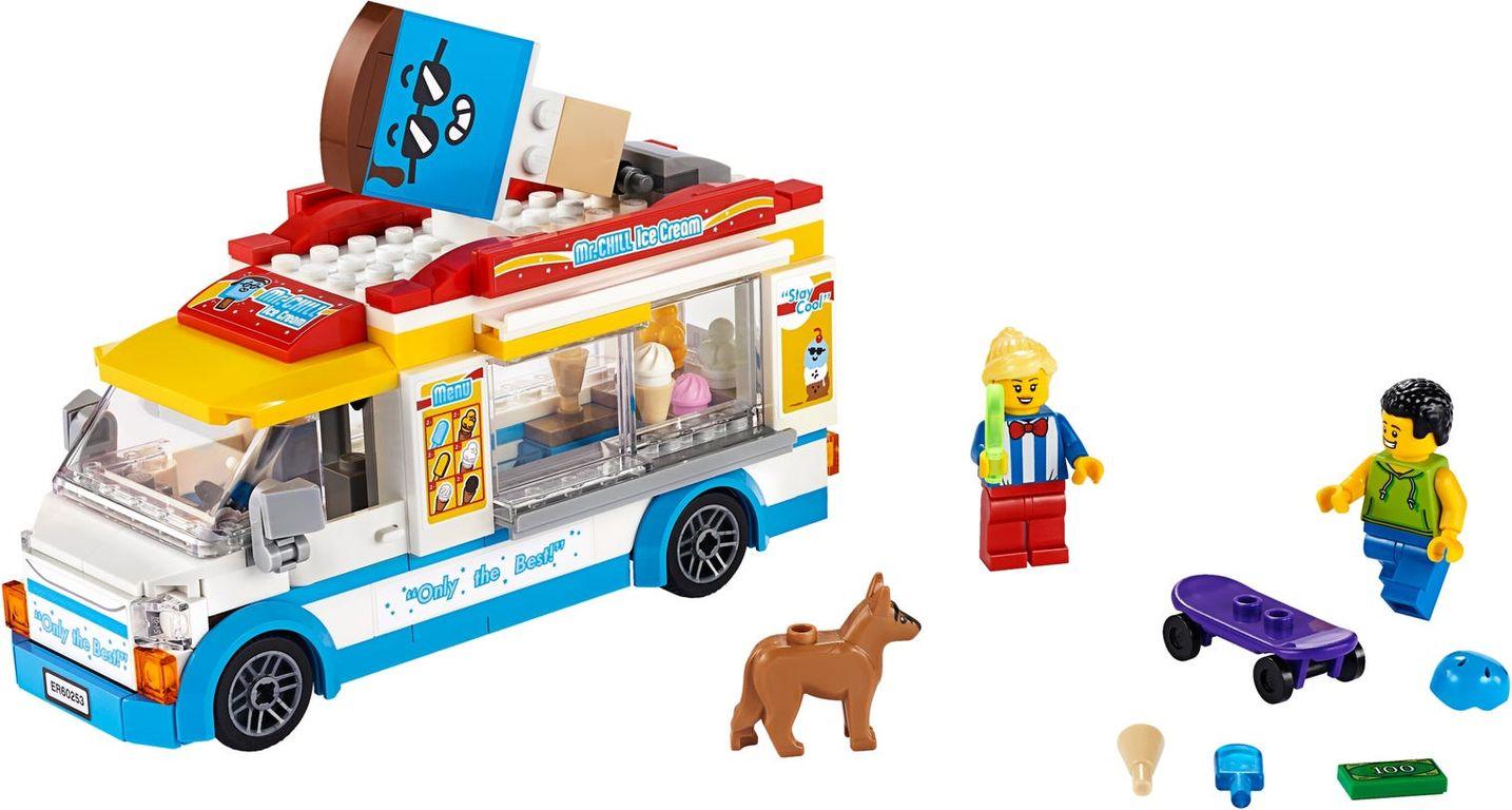 LEGO® City Ice-Cream Truck components