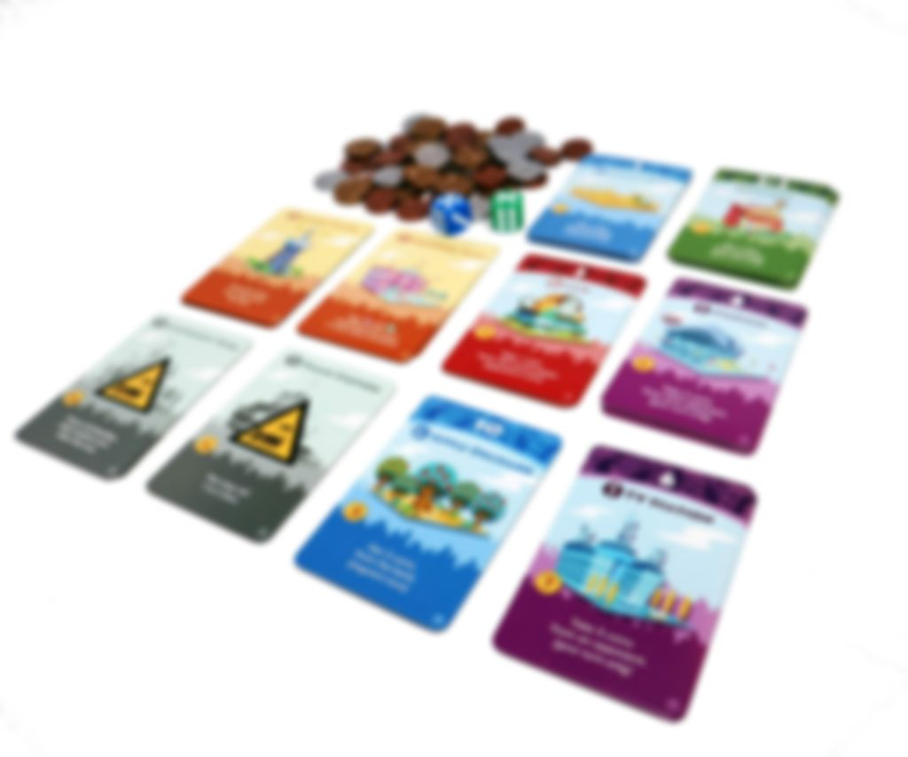 Machi Koro 5th Anniversary Edition cards