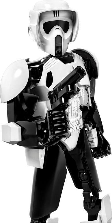 LEGO® Star Wars Scout Trooper™ & Speeder Bike™ components