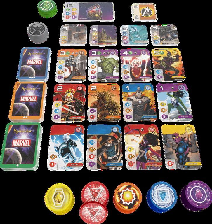 Splendor Marvel components