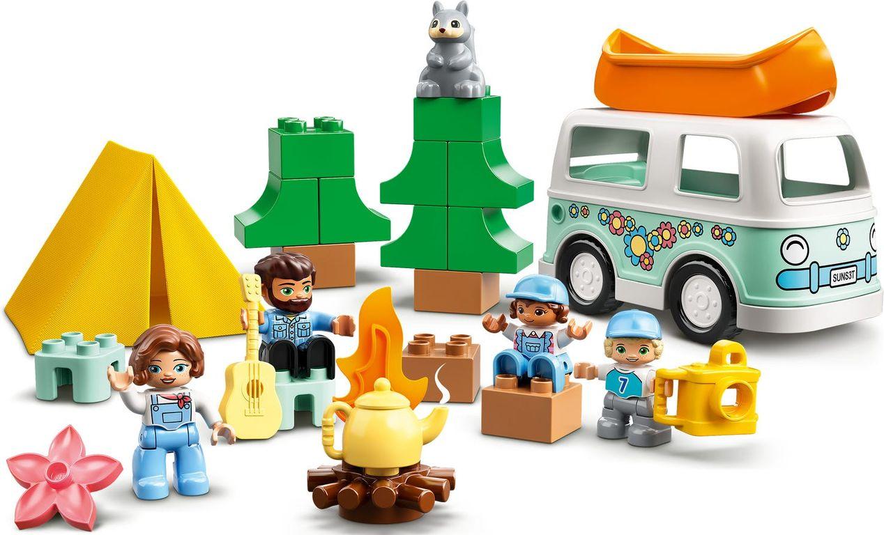 LEGO® DUPLO® Family Camping Van Adventure gameplay