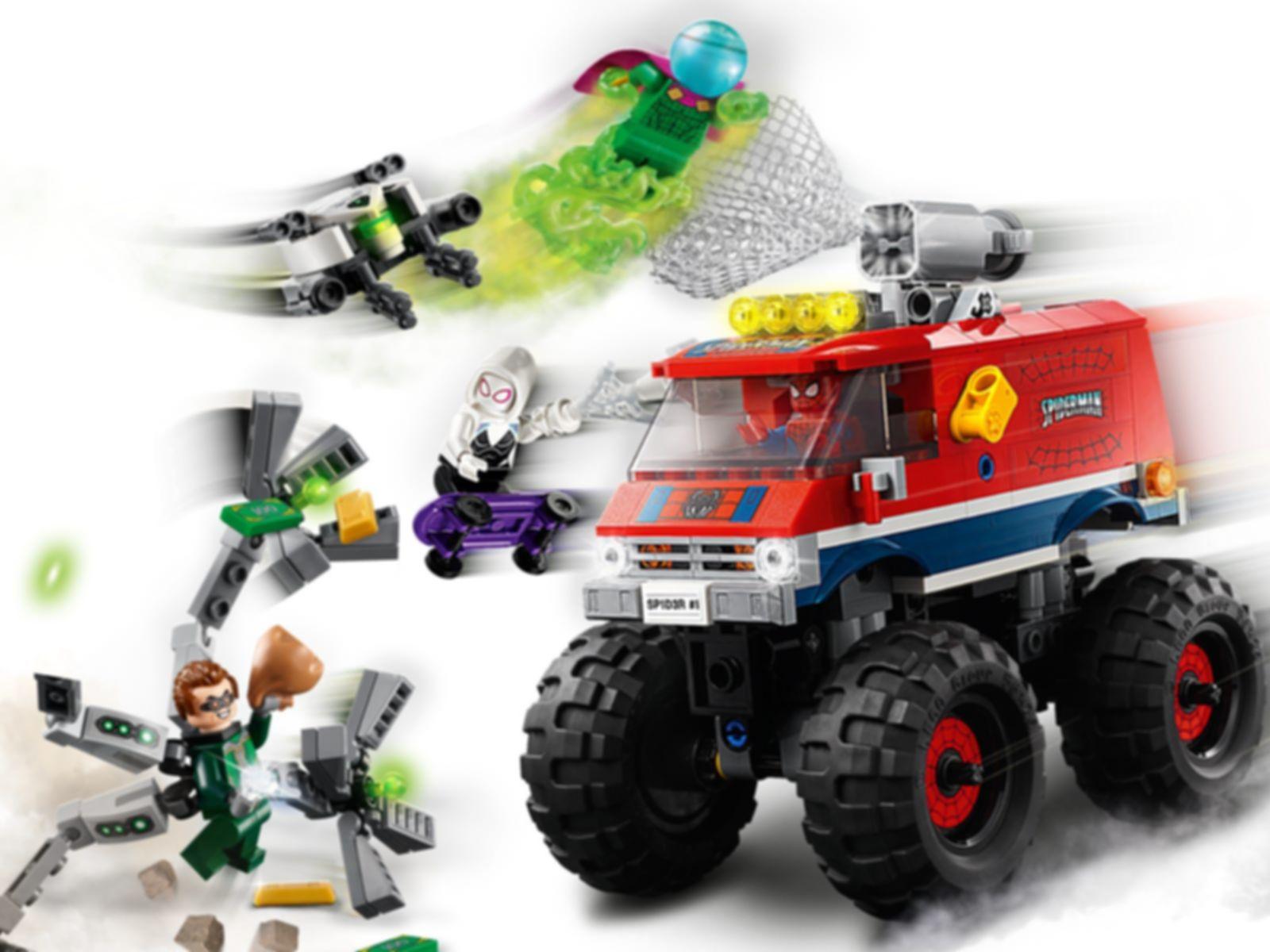 LEGO® Marvel Spider-Man's Monster Truck vs. Mysterio gameplay