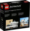 LEGO® Architecture Solomon R. Guggenheim Museum® back of the box