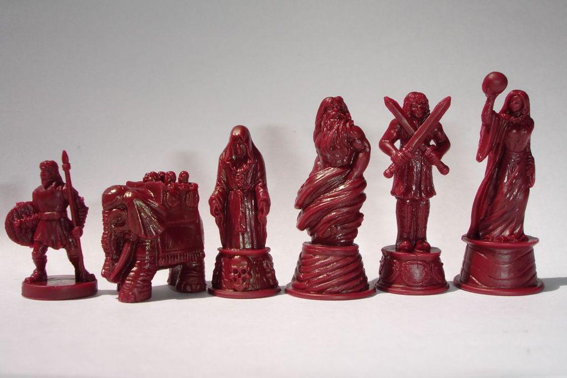 Risk: Godstorm miniatures
