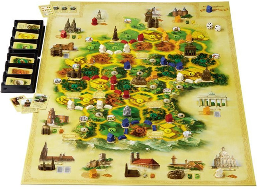 Catan Geographies: Germany gameplay