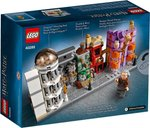 Diagon Alley Mini Building Set back of the box
