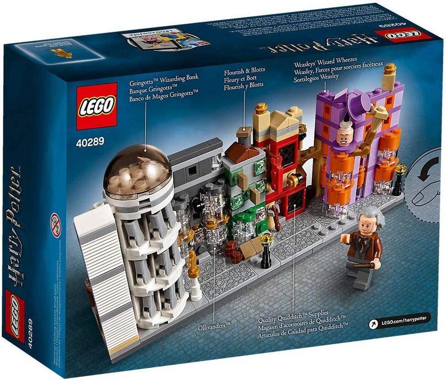 LEGO® Harry Potter™ Diagon Alley Mini Building Set back of the box