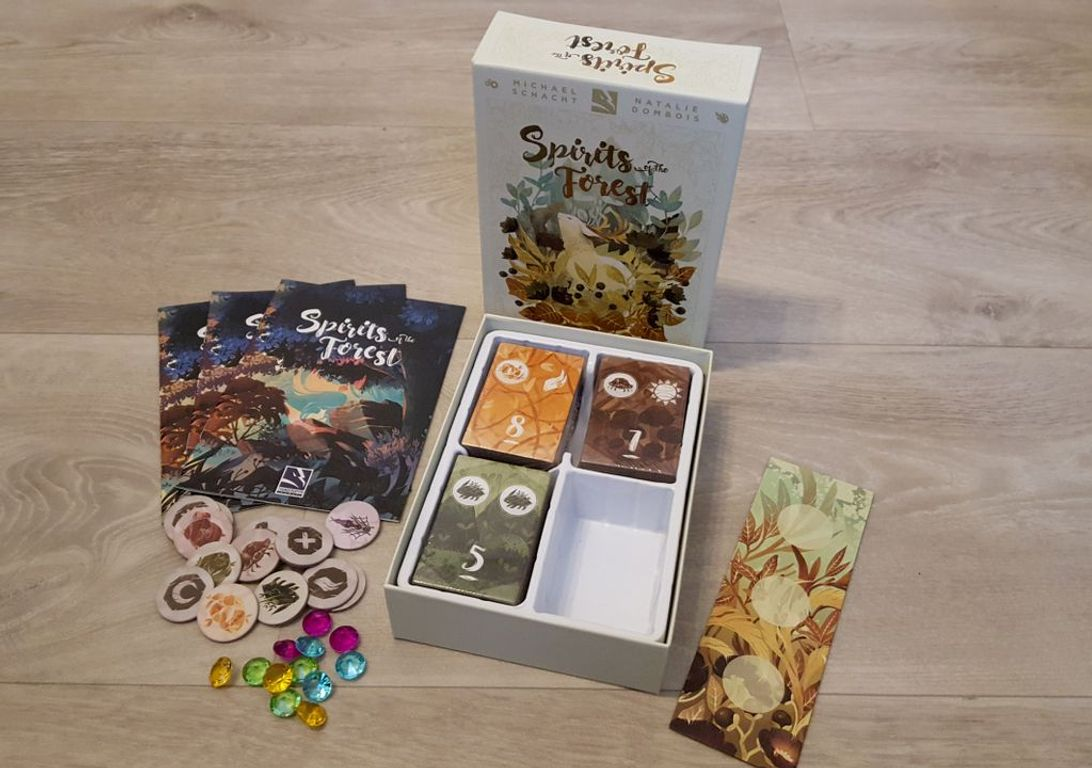 Spirits of the Forest components