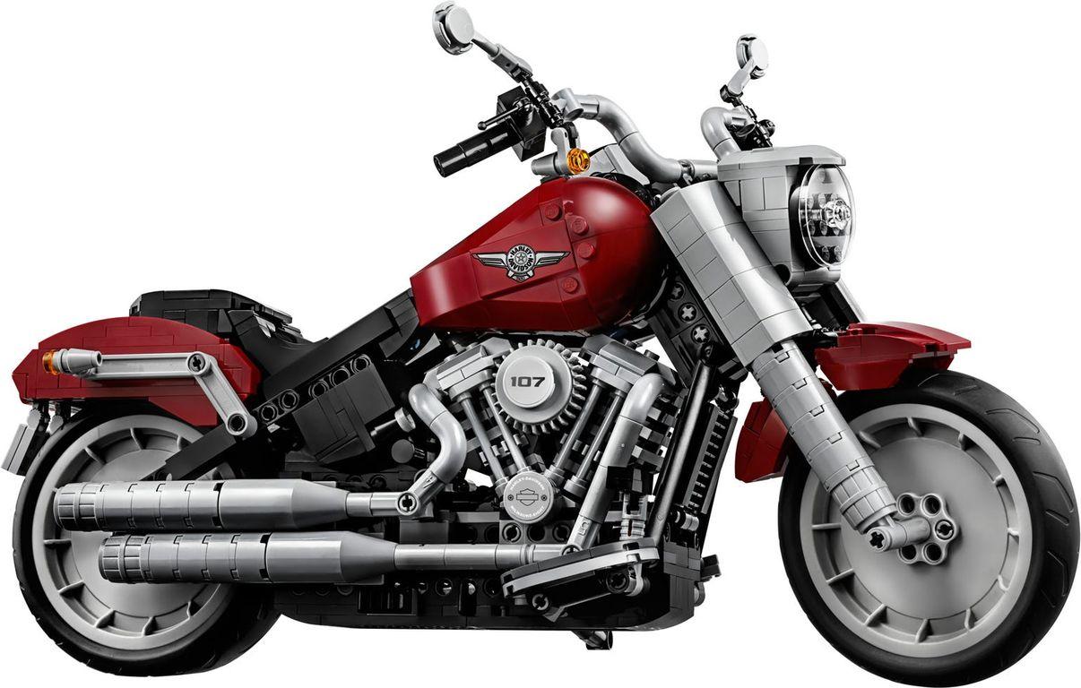 LEGO® Creator Expert Harley-Davidson® Fat Boy® components