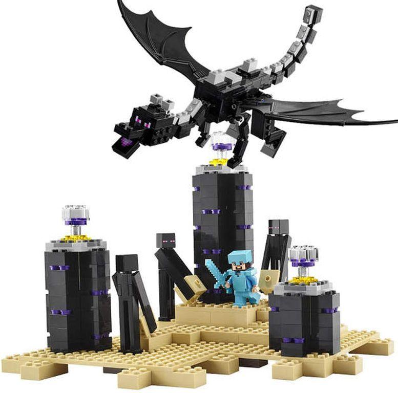 LEGO® Minecraft The Ender Dragon gameplay