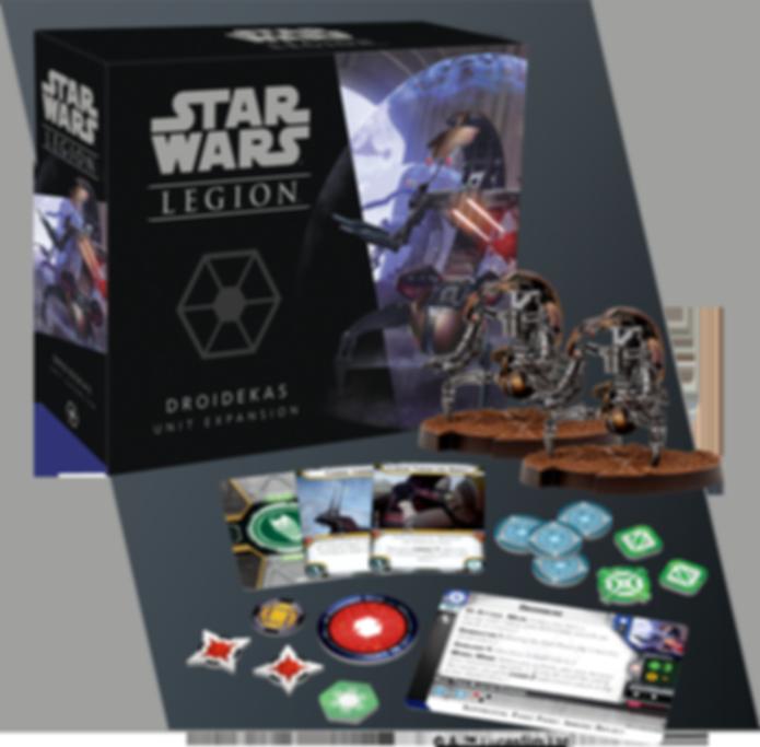 Star Wars: Legion – Droidekas Unit Expansion components