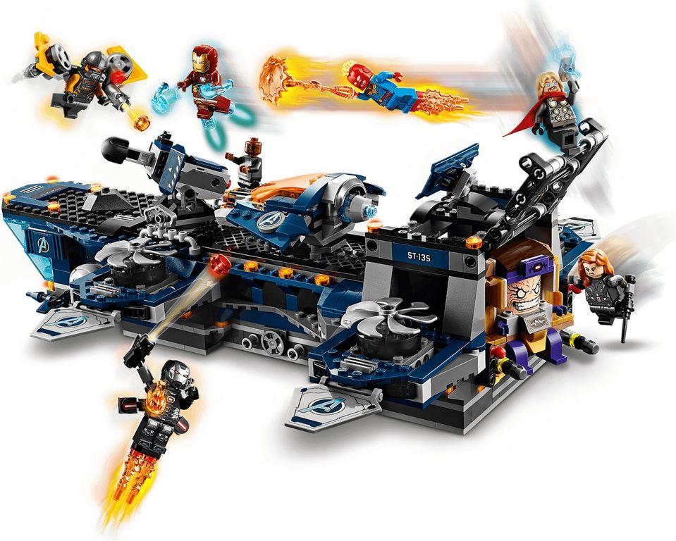 LEGO® Marvel Avengers Helicarrier gameplay