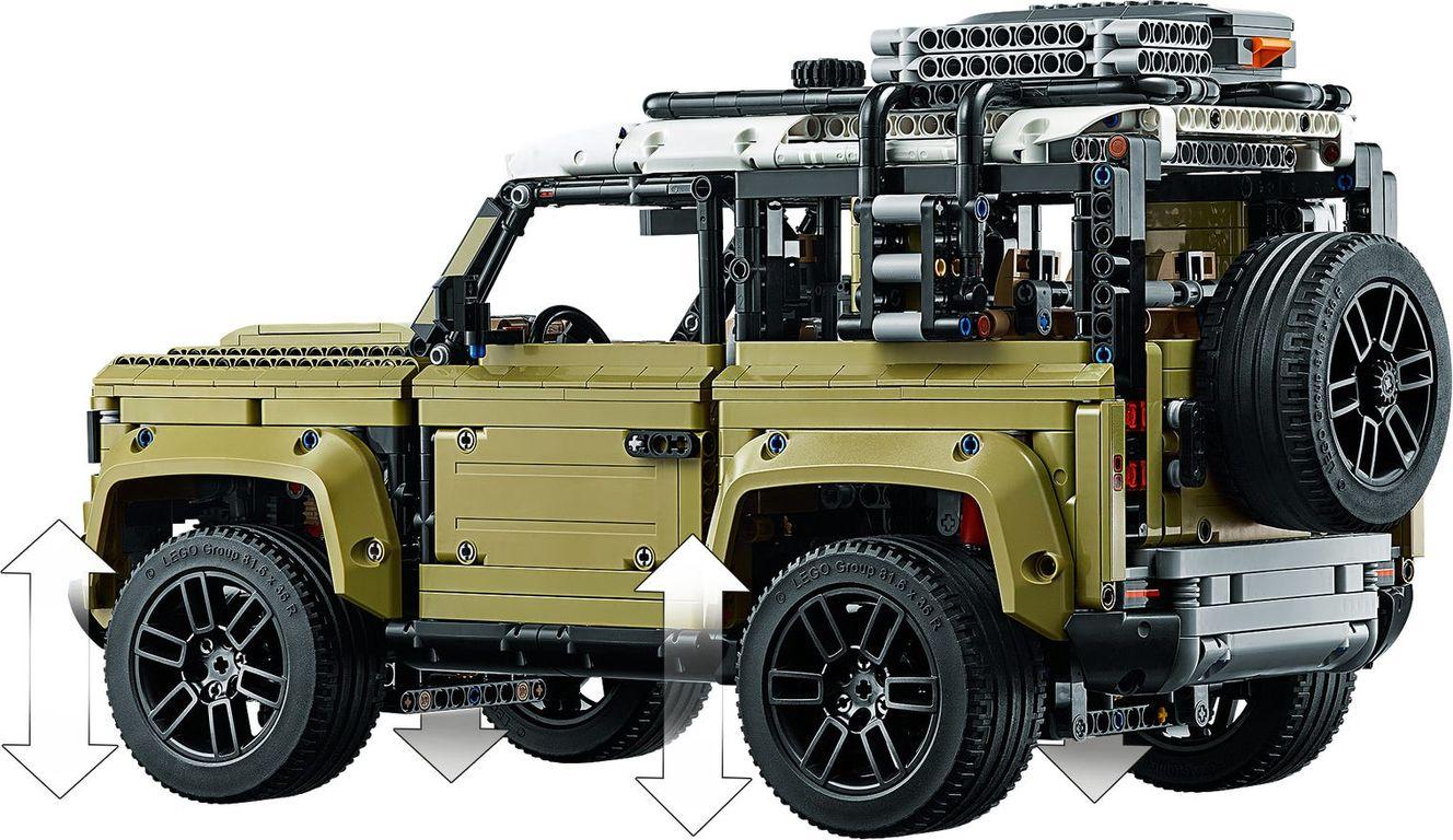 Land Rover Defender back side