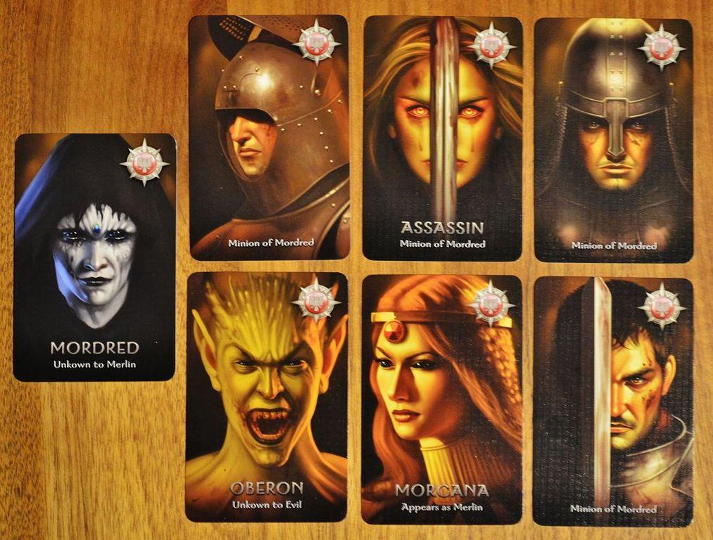 The Resistance: Avalon cards
