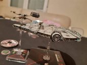 Star Wars: X-Wing Miniatures Game - Heroes of the Resistance Expansion Pack miniatures