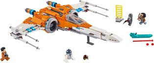 LEGO® Star Wars Poe Dameron's X-wing Fighter™ components