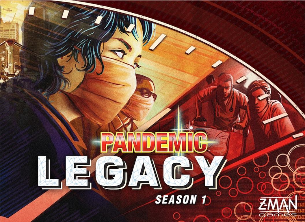 Pandemic Legacy Season 1 - Red Edition