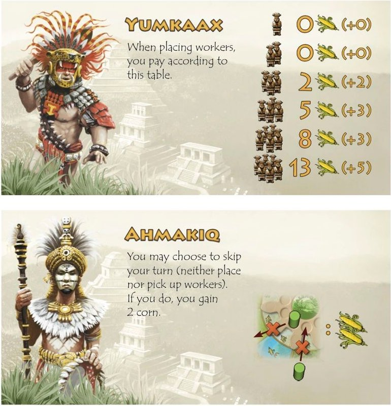 Tzolk'in: The Mayan Calendar - Tribes & Prophecies cards