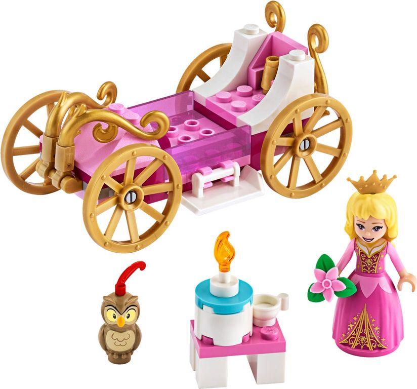LEGO® Disney Aurora's Royal Carriage components