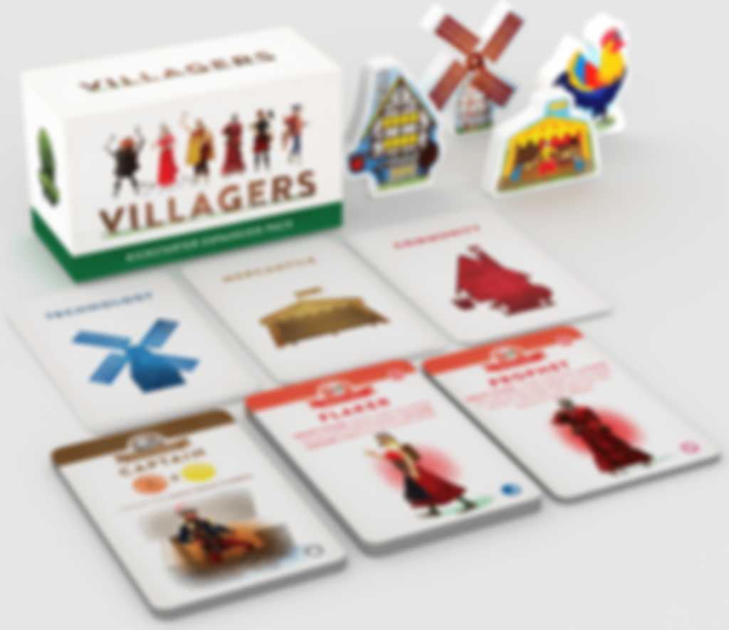 Villagers Expansion Pack components