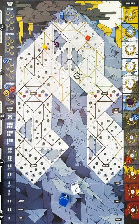 Summit: The Board Game game board