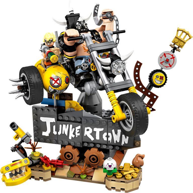LEGO® Overwatch Junkrat & Roadhog components