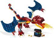 LEGO® Creator Fire Dragon gameplay