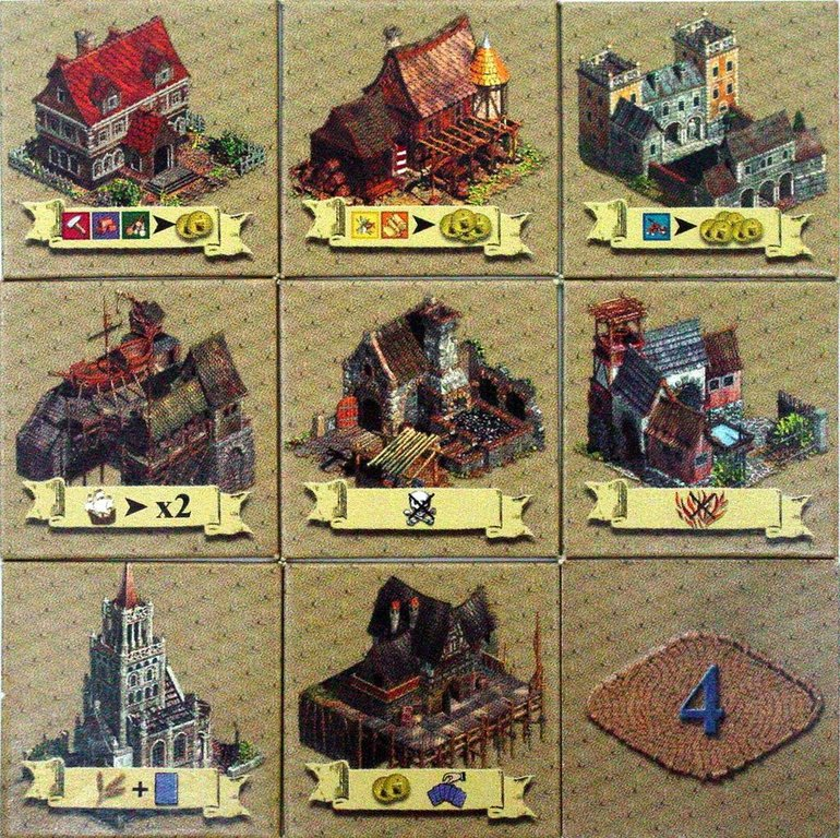 Anno 1503 components