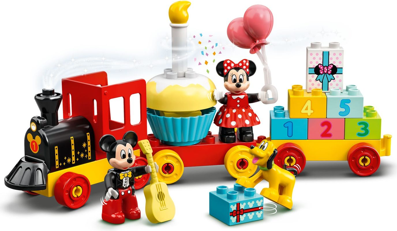 Mickey & Minnie Birthday Train gameplay