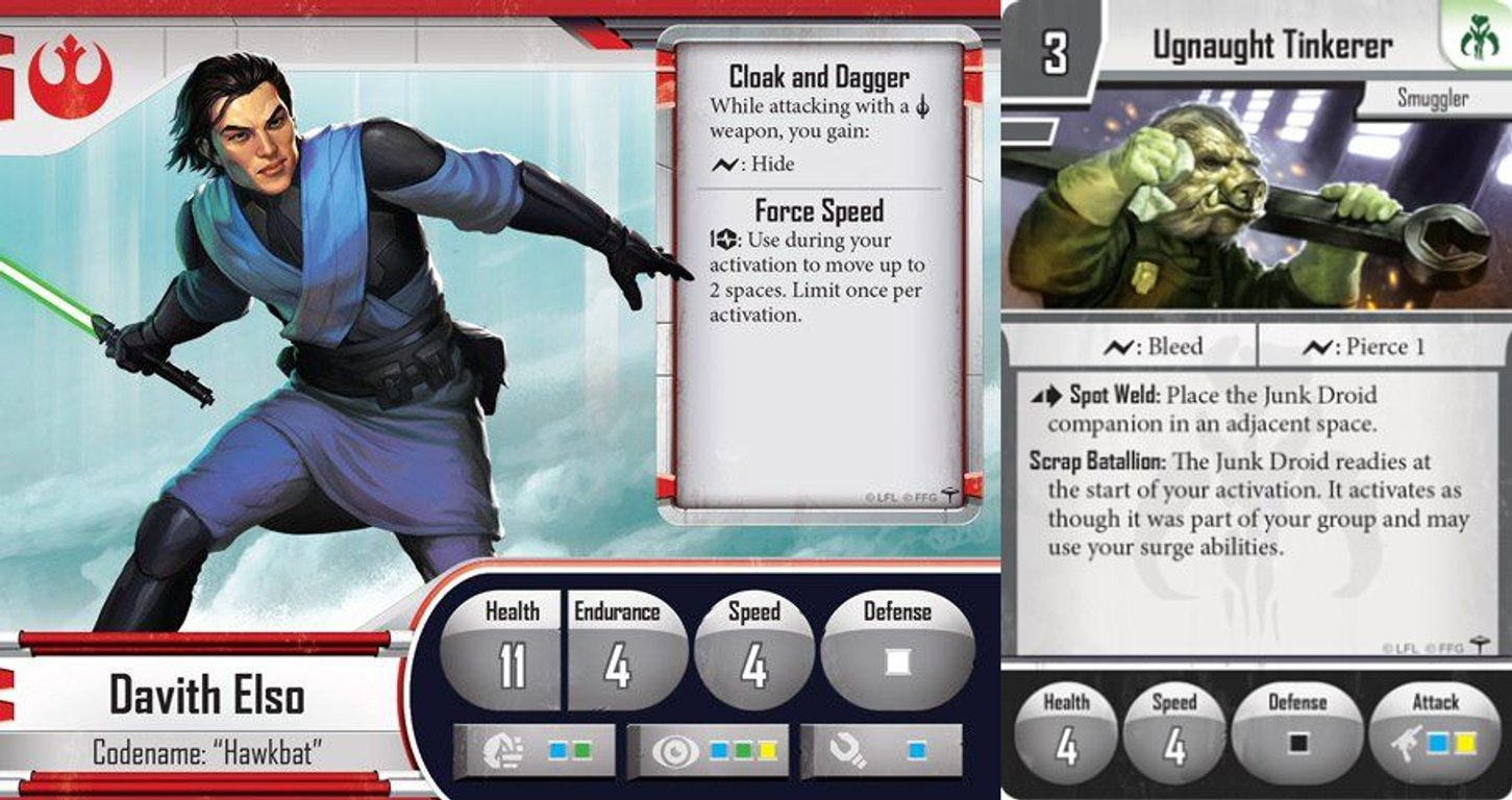 Star Wars: Imperial Assault - The Bespin Gambit cards