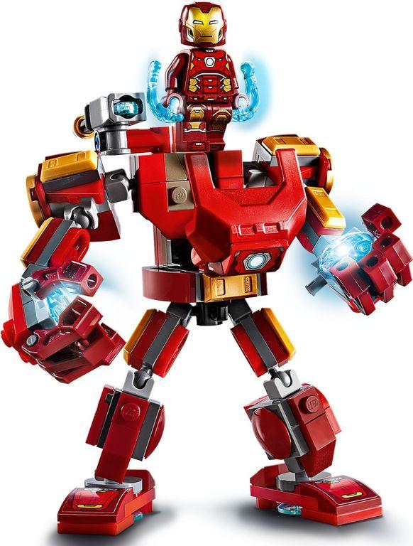 LEGO® Marvel Iron Man Mech components