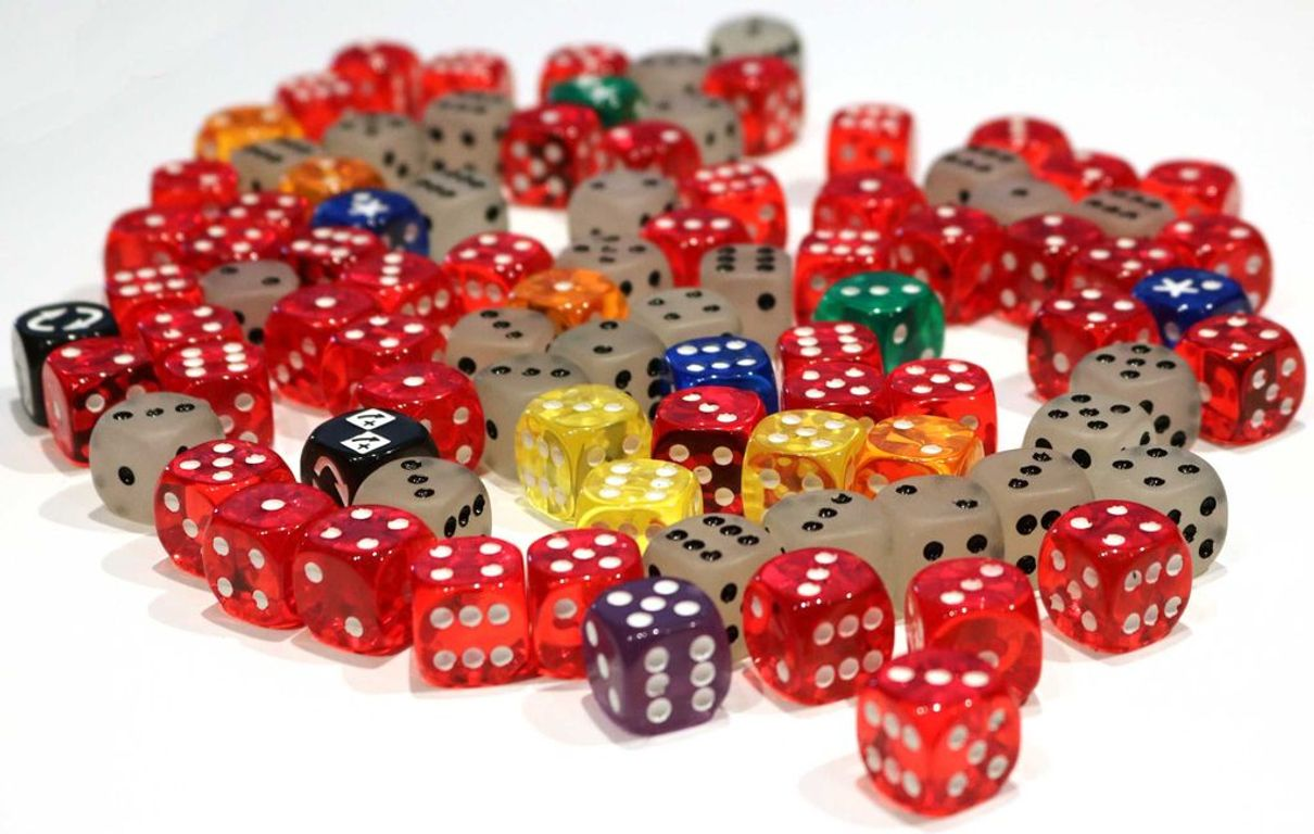 Favor of the Pharaoh dice
