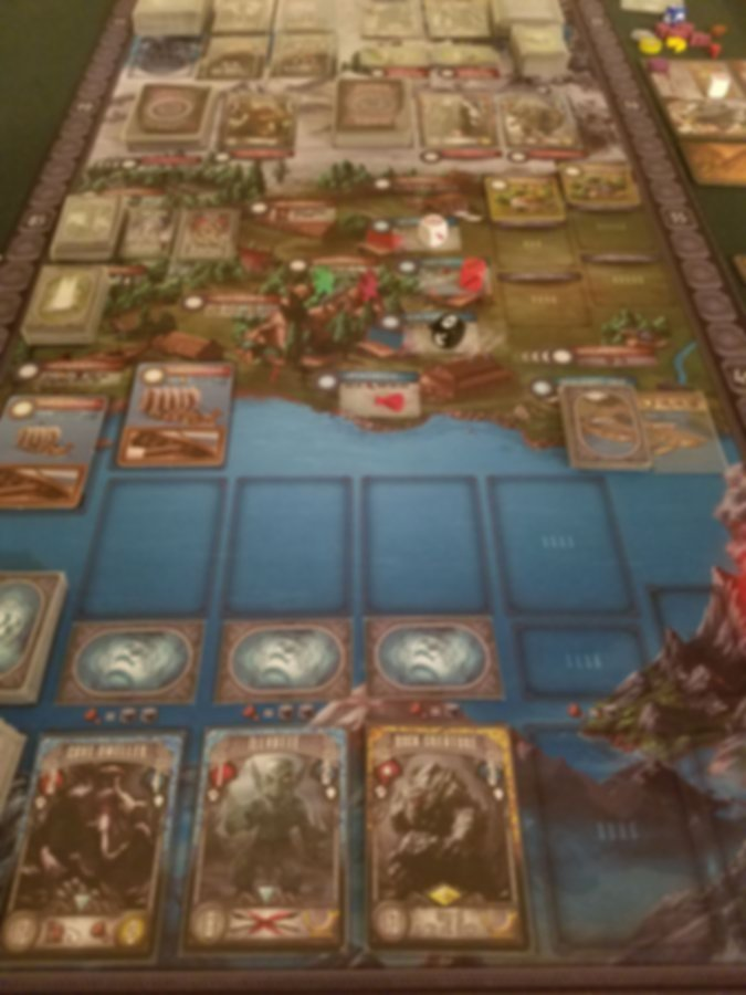 Champions of Midgard: The Dark Mountains gameplay