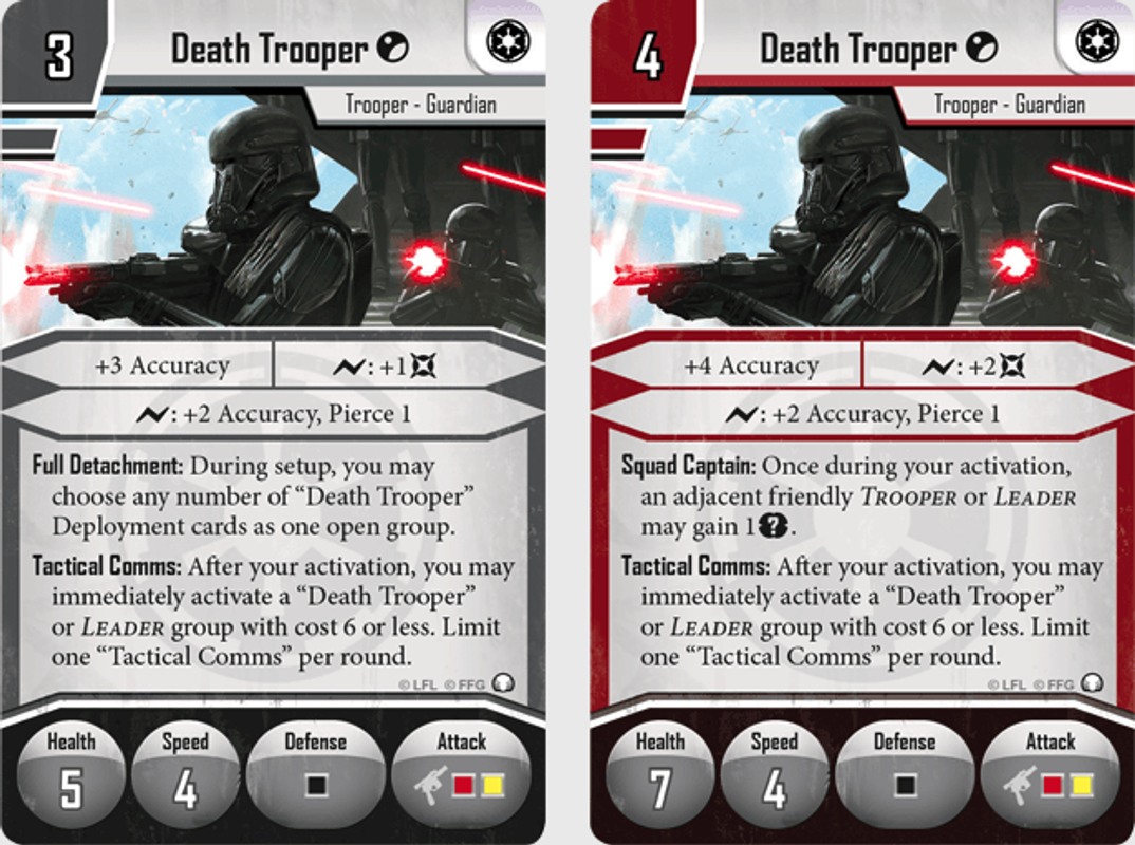 Star Wars: Imperial Assault - Tyrants of Lothal kaarten