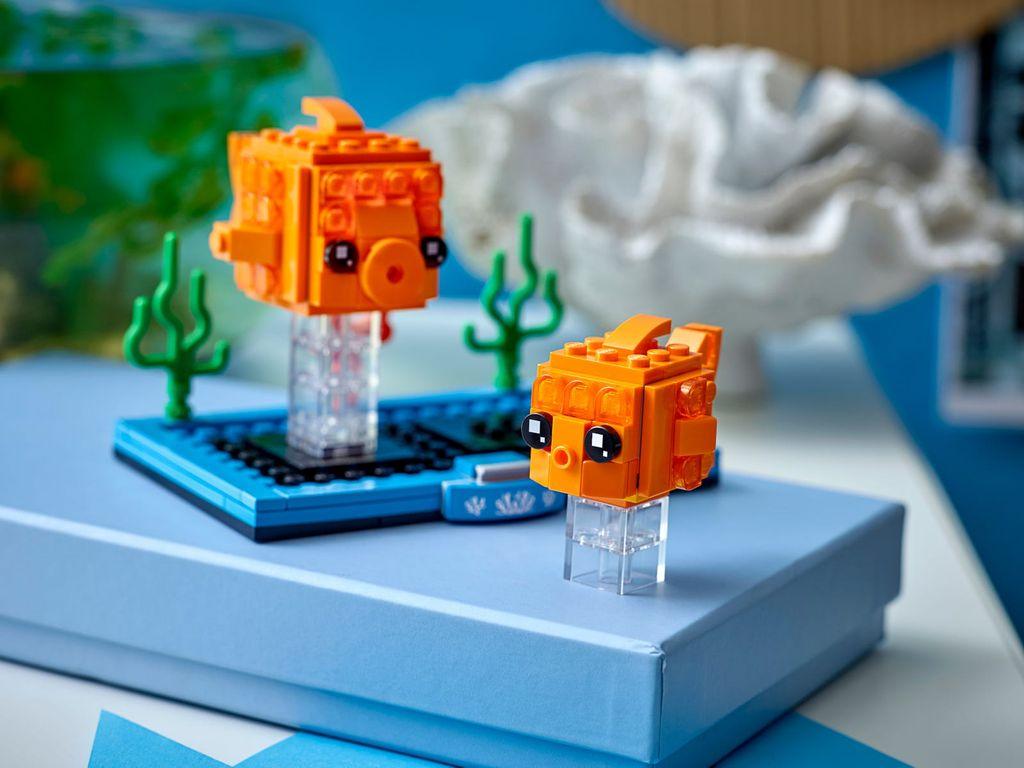 LEGO® BrickHeadz™ Goldfish gameplay