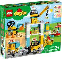 LEGO® DUPLO® Tower Crane & Construction